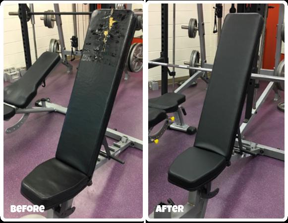 Refurbish your gym equipment