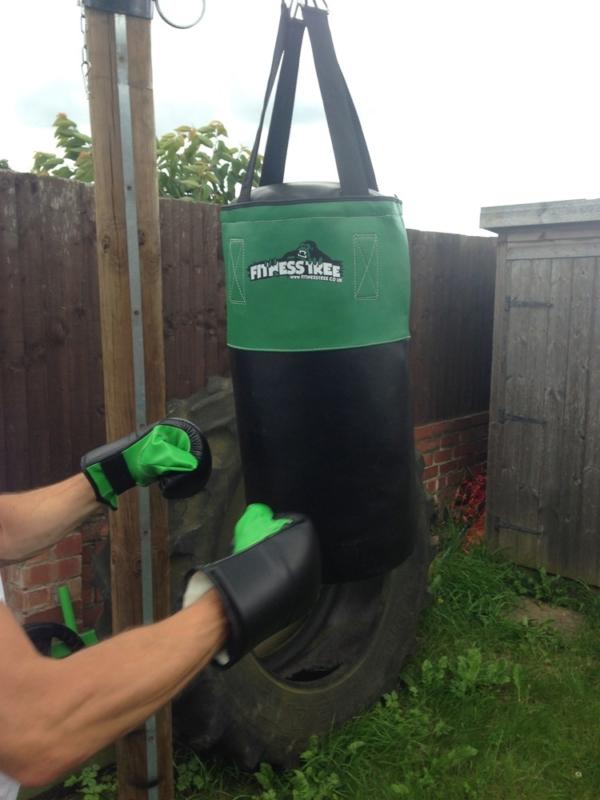 FITNESS TREE PUNCH BAG GLOVES